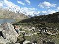 Rush lake trekking in august.JPG