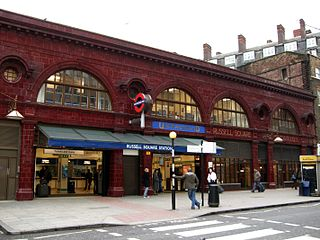 Russell Square tube station London Underground station