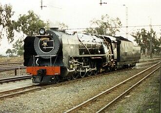 South African Class 23 4-8-2 - Image: SAR Class 23 3300 (4 8 2)