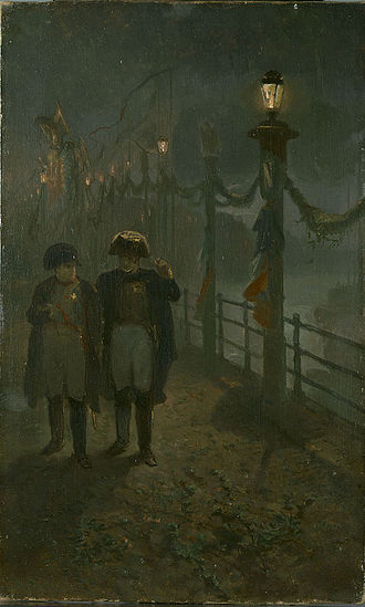 Napoleon in Holland - Napoleon in Amsterdam by Charles Rochussen