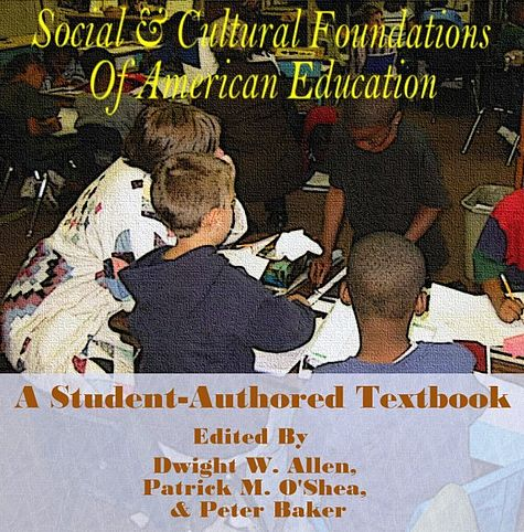 Logo for Social and Cultural Foundations of American Education