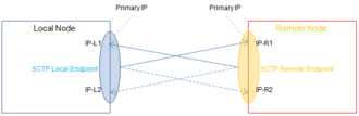 Stream Control Transmission Protocol - SCTP Multihoming