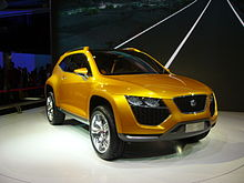 SEATs Crossover SUV Concept Car