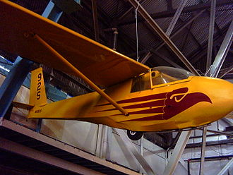 Schweizer SGS 2-33 - SGS 2-33A at Wings Museum, June 2007