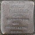 SG Stolperstein - Hermann Friedberger, Schwertstraße Ecke Werwolf.jpg