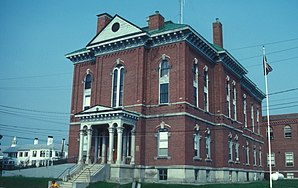 Somerset County Courthouse in Skowhegan