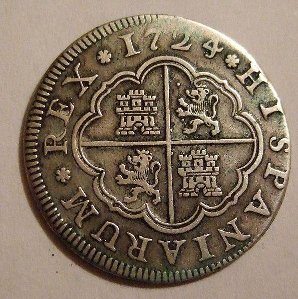 File:SPAIN 1724, LUIS I -2 REALES b - Flickr - woody1778a.jpg