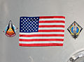 STS-135 Harmony's hatch with U.S. flag - closeup - cropped.jpg
