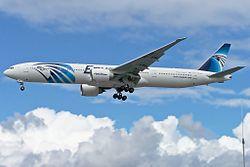 Boeing 777-300ER of Egypt Air