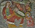SUTRI (VT) Chiesetta Madonna del Parto - Affresco nell'abside - panoramio.jpg
