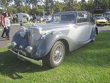 Charming SS Jaguar 3½ Litre, 125 Hp Drophead Coupé 1940