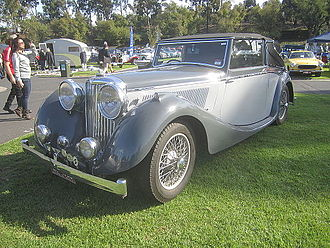 Jaguar Cars - SS Jaguar 3½-litre, 125 hp drophead coupé 1940