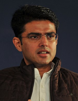 English: Sachin Pilot, Minister for Communicat...