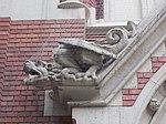 Sacred Heart Church. Dragon sculpture. - Budapest District VIII.JPG
