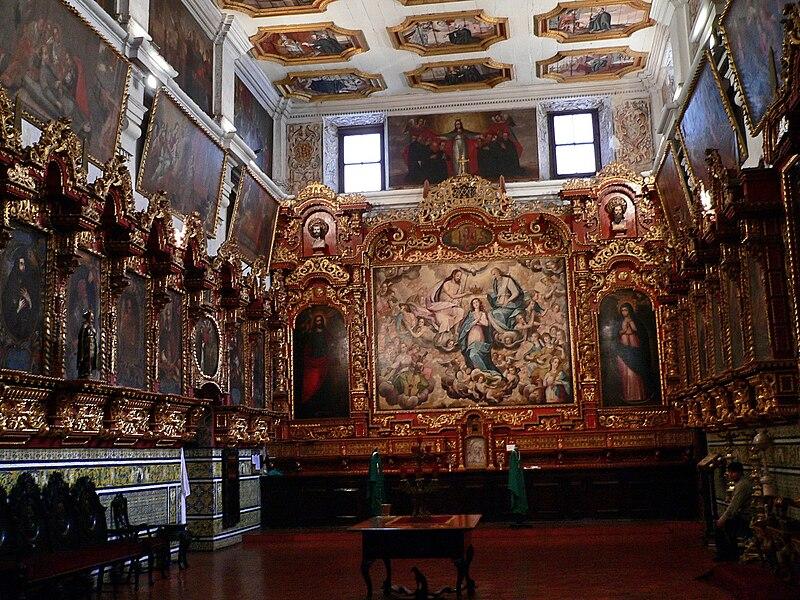 Archivo:Sacristía de San Pedro Lima.jpg