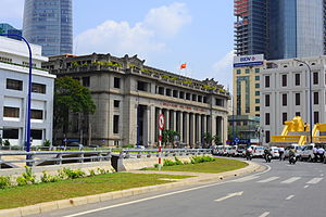 State Bank of Vietnam - State Bank of Vietnam building in Ho Chi Minh City.