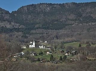 Saint-Alban-dHurtières Commune in Auvergne-Rhône-Alpes, France