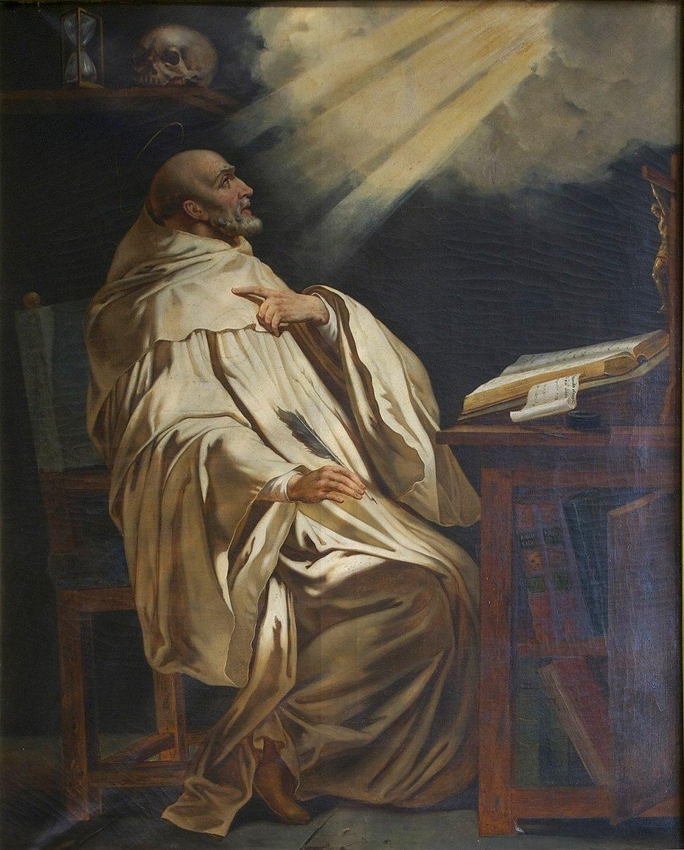 Saint Bernard Philippe de Champaigne (d'après) Saint Etienne du Mont