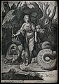 Saint Margaret. Engraving by P. Thomassin, 1589, after Rapha Wellcome V0032586.jpg
