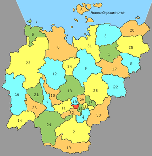 Administrative divisions of the Sakha Republic - Image: Sakha Republic Municipal Divisions