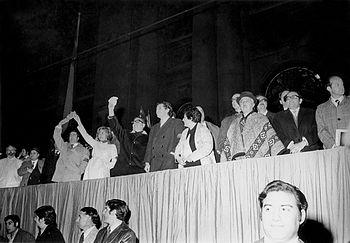 Salvador Allende - manifestaci%C3%B3n