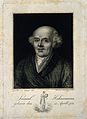 Samuel Christian Friedrich Hahnemann. Line engraving by L. B Wellcome V0002497.jpg