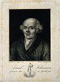 Samuel Christian Friedrich Hahnemann. Line engraving by L. B Wellcome V0002497.jpg