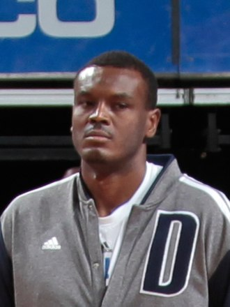 Samuel Dalembert - Dalembert with the Mavericks in February 2014