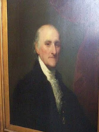 Samuel Miles - Samuel Miles by Gilbert Stuart In the collection of The Smithsonian National Portrait Gallery