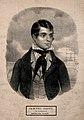 Samuel Scott, a diver. Lithograph. Wellcome V0007223.jpg