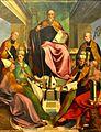 San Benedetto in cattedra e santi, Andrea Sabatini 001.jpg