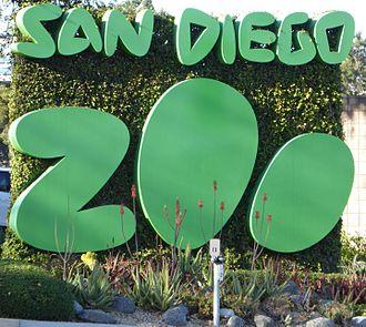 San Diego Zoo - Image: San Diego Zoo Street Sign