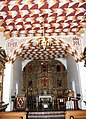 San Francisco, CA USA - Mission San Francisco de Asis (1776) - The interior of the Mission chapel - panoramio.jpg