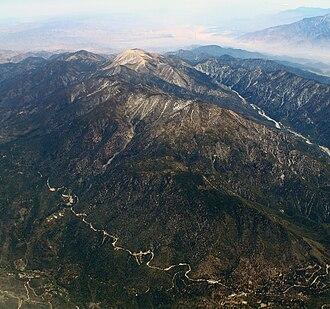 San Gorgonio Mountain - The shallow slopes of San Gorgonio Mountain earn it the name of Old Greyback