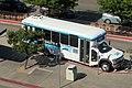 San Leandro LINKS bus at San Leandro station, July 2019.JPG