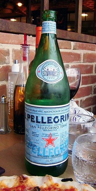 S.Pellegrino - 1 litre bottle