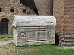 San vitale, ravenna, ext., sarcofago 02.JPG
