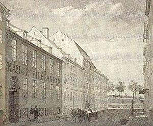 Sankt Peders Stræde - Sankt Peders Stræde by H. G. F. Holm