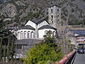 Sant Esteve Church View from Centre de Congresssos.JPG