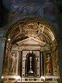 Santa Trinita, Cappella delle reliquie di San Giovanni Gualberto, affreschi del Passignano.JPG