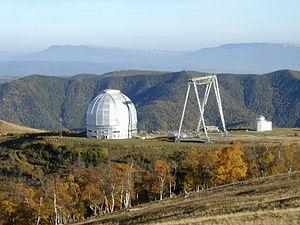 BTA-6 - Image: Sao 6m Telescope