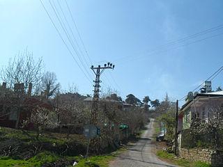 Sarıkavak, Çamlıyayla Village in Mersin Province, Turkey