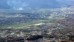 Sarajevo Airport from Trebević.jpg