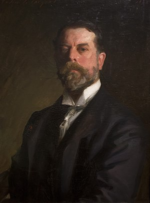 John Singer Sargent - Self-Portrait, 1906, oil on canvas, Uffizi Gallery, Florence.