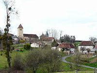 Sarrazac (Dordogne) vue générale.JPG