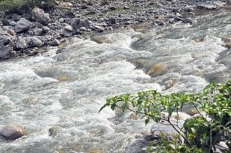 Sarju River - Image: Saryu river panoramio