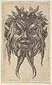 Satyr Mask with Horns and a Twisted Beard Wearing an Ivy Wreath, from Divers Masques MET DP837339.jpg