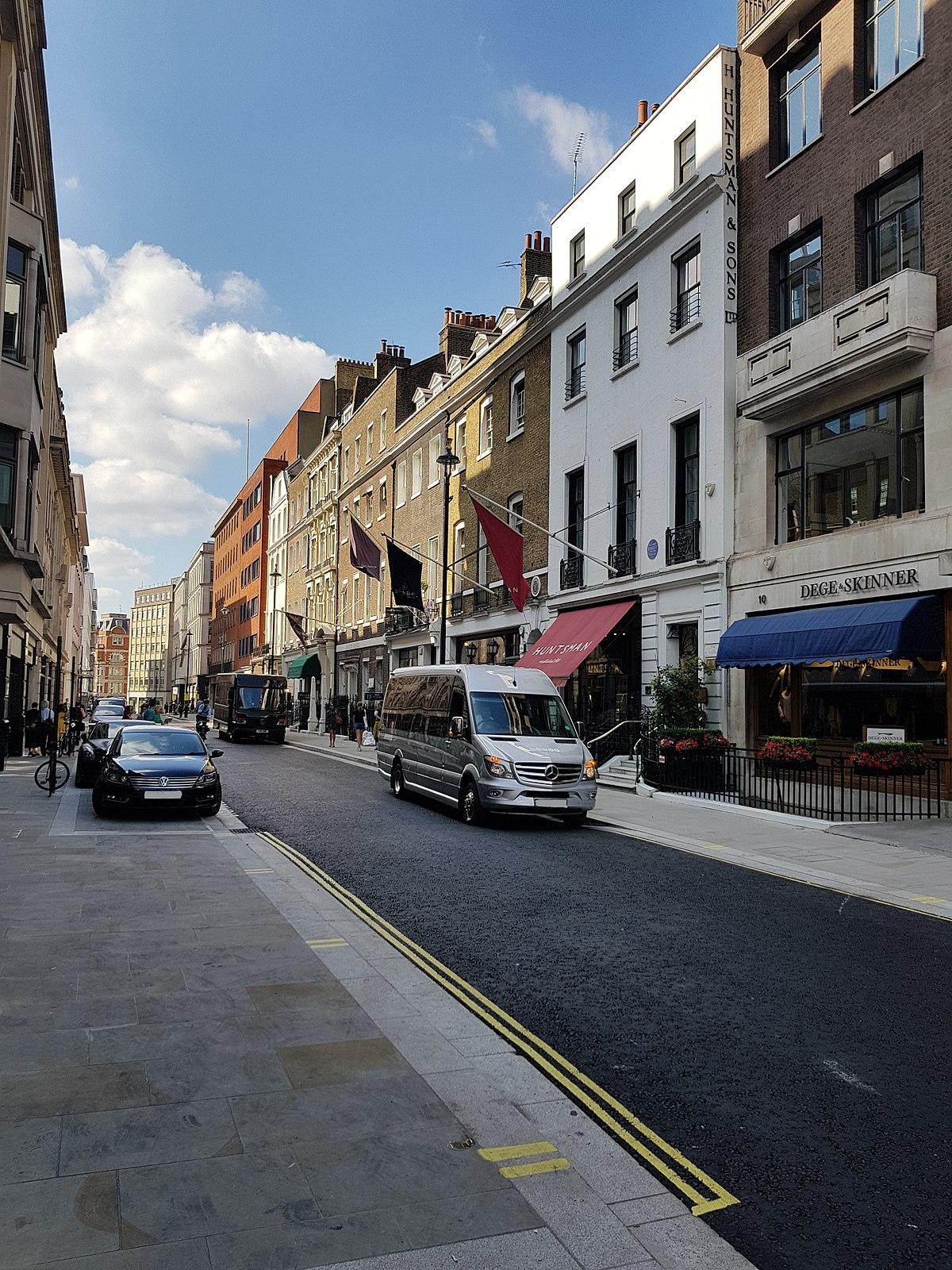 Savile Row — Wikipédia