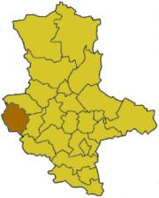 Вернигероде на карте
