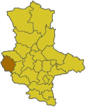 Wernigerode (district) - Image: Saxony anhalt wr
